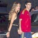 Javi Martínez and Maria Imizcoz