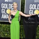 Charlize Theron  wears Christian Dior Dress : 77th Annual Golden Globe Awards