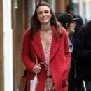 Keira Knightley film scenes for the upcoming movie 'Collateral Beauty' in New York City, New York on April 1, 2016 - 448 x 600