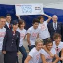 One Direction recently took to the skies with British Airways to raise money for BA's Flying Start charity. The band flew from London to Manchester with several fans last week