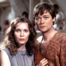 Mia Farrow and Simon Ward in Supergirl (1984)