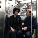 Mary Elizabeth Winstead and Ewan McGregor – Hold hands while riding the NYC Subway - 454 x 610
