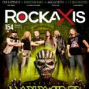 Iron Maiden - Rockaxis Magazine Cover [Chile] (February 2016)