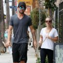 Kaley Cuoco Out For Lunch With Ryan Sweeting In Venice