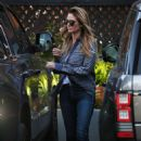 Heidi Klum and Tom Kaulitz – Out in Bel Air