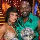 Cheryl Burke and Emmitt Smith