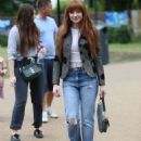 Nicola Roberts – Arrives at the Peter Pan launch in London - 454 x 624