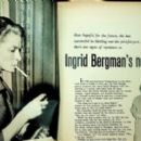 Ingrid Bergman - Silver Screen Magazine Pictorial [United States] (August 1958) - 454 x 262