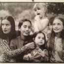 Jade, Karis with little Assisi Jackson, little Georgia May & Elizabeth Jagger