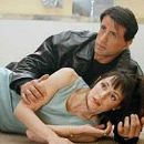 Sylvester Stallone and Madeleine Stowe