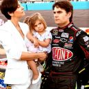 Jeff Gordon and Ingrid Vandebosch - 375 x 535