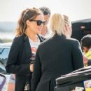 Kate Beckinsale – Arrives at Heathrow Airport in London