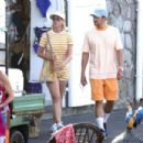 Katy Perry and Orlando Bloom – Visiting Panarea in Eolian Islands