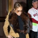 Jennifer Lopez – Heads to Fenway Park in Boston