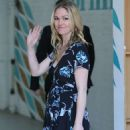 Julia Stiles – Leaves ITV Studios in London - 454 x 766