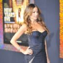 Sofía Vergara at the Los Angeles premiere of New Year's Eve held at the Grauman's Chinese Theatre in Hollywood 12/05/2011