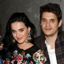 "Katy Perry and John Mayer at ""A Christmas Story, The Musical"" Broadway Performance at Lunt-Fontanne Theatre on December 12, 2012 in New York City"