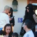 Amber Rose and Kat Von D have lunch at Urth Caffe in West Hollywood, California - February 10, 2014 - 454 x 323
