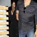Sandra Bullock and Bryan Randall – Leaving Roku Sushi in West Hollywood - 454 x 681