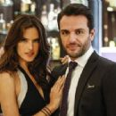 Rodrigo Lombardi & Alessandra Ambrosio on the soap opera ''Verdades Secretas'' (2015) - 454 x 340