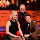 Graham Norton, Jennifer Lawrence and Eddie Redmayne on The Graham Norton Show - 454 x 299
