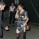 Selena Gomez – Leaving the Prada Event in NYC