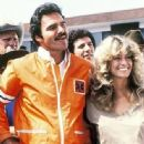 Burt Reynolds and Farrah Fawcett - 335 x 337