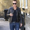 Martin Kemp Arrives at His London Hotel - 341 x 594
