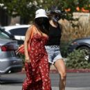 Vanessa Hudgens – Spotted with her dog at the Veterinarian in Studio City
