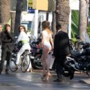 Doutzen Kroes - Photoshoot Candids in Cannes