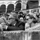 Grace Kelly and Prince Rainier of Monaco at the 1966 Bullfights, Spain - 454 x 330