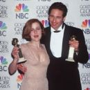 Gillian Anderson and David Duchovny - The 54th Annual Golden Globe Awards (1997) - 454 x 665
