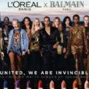 L'Oréal x Balmain Fall 2017 - 454 x 267