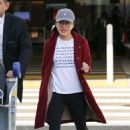 Constance Wu – Arrives at LAX Airport in Los Angeles - 454 x 681