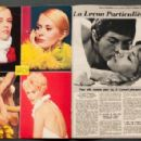 Jean Seberg - Cine Revue Magazine Pictorial [France] (22 August 1968) - 454 x 295