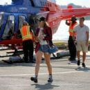 Rita Ora – Arrives at the heliport from The Hamptons in New York City
