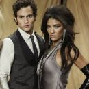 Jessica Szohr and Penn Badgley