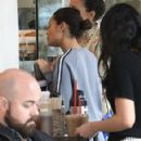 Thandie Newton gets some coffee in Beverly Hills, California on January 9, 2017 - 422 x 600