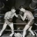 Mickey Rooney Going A Few Rounds With Art Aragon - 407 x 501