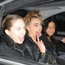 January 21st 2013 - Leaving Chanel Fashion Show in Paris - 454 x 336