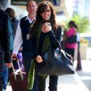 Alanis Morisette - Departs LAX Airport, 2009-04-13