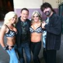 Madison Rayne, Jeremy Borash, Velvet Sky and Mick Foley - 454 x 605