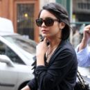 Vanessa Hudgens spends her Valentine's Day shopping at Chanel on February 14, 2012 in Paris, France