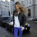 Cara Delevingne Out In London