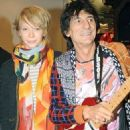 Ron Wood and Ekaterina Ivanova