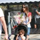'Furious 7' actress Jordana Brewster went to the farmer's market with her family in Los Angeles, California on August 21, 2016 - 373 x 600