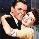 Debbie Reynolds and Frank Sinatra