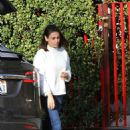 Mila Kunis out running erands in Los Angeles