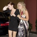 Ashley Tisdale:  Leaving The Bob's Big Boy Restaurant