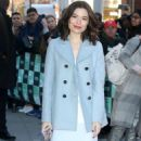 Miranda Cosgrove – Arrives at AOLBuild studios in New York City - 454 x 563